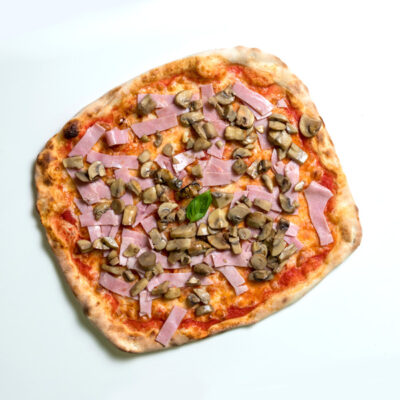 Pizza Point - Ham and Mushroom